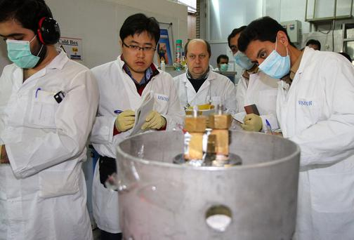 Iran has halted production of 20 percent enriched uranium