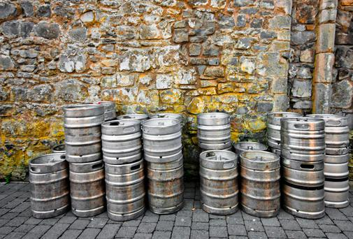 400,000 kegs missing over six years at cost of €40m