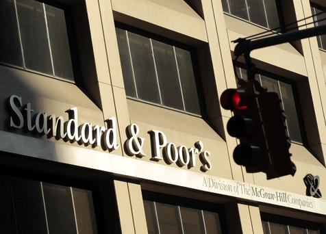 The Standard and Poor's building in New York.