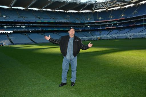 """In 1997, we were lucky enough to play Croke Park,"" he said, although the stadium was then being redeveloped."