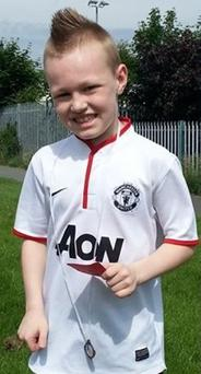 Rapper Ben Dunne (9) is set to hit the charts