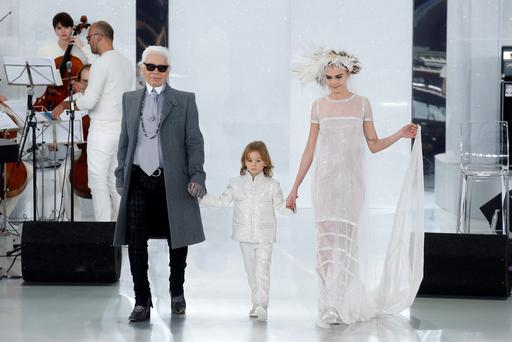 Lagerfeld Takes A Feminine Direction With Latest Chanel Collection
