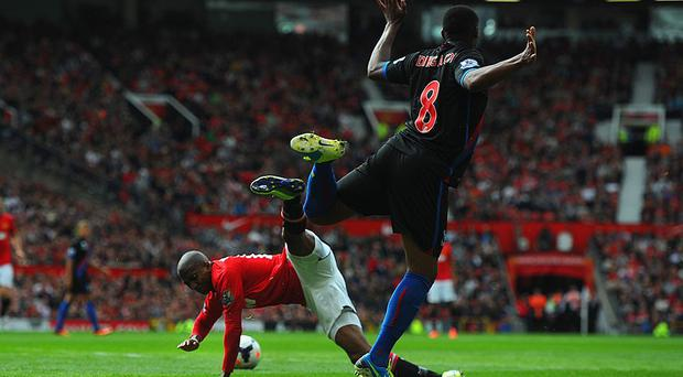 Ashley Young - The Man Utd player gives the impression he has banana skins stuck to his boots. The Palace game was the worst of many offences, sticking out his leg to ensure contact with Crystal Palace's Kagisho Dikgacoi.