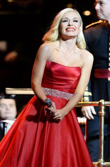 Katherine Jenkins said she doesn't regret denying she had an affair with David Beckham out of the blue last year
