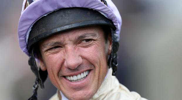 Fit and ready for action: Frankie Dettori