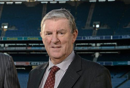 Football Review Committee (FRC) Chairman Eugene McGee