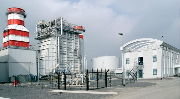 Energia operates the Huntstown Power Station in Dublin