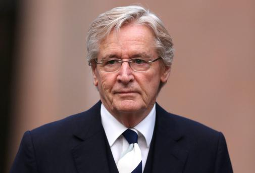 'Coronation Street' actor William Roache arrives at Preston Crown Court. PA