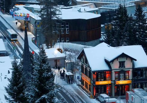 Davos meeting: Rising CEO confidence in economy, but plenty of worries