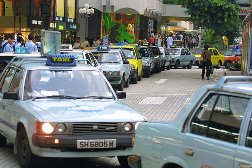 SINGAPORE - APRIL 24: Retailers, hotels and taxi drivers are all the feeling the pain caused by the SARS outbreak as many tourist from all over the world have cancelled their trips April 24, 2003 in Singapore. According to Deputy Prime Minister Lee Hsien Loong, the Singapore government will muster all resources to fight SARS. Loong warned of catastrophic consequences for Singapore if the disease is not controlled. He addressed the Parliament saying,