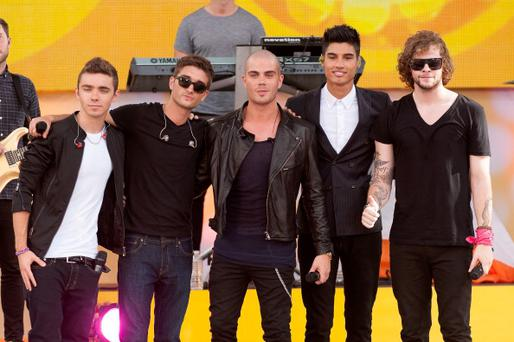 (L-R) Nathan Sykes, Tom Parker, Max George, Siva Kaneswaran, and Jay McGuiness of The Wanted