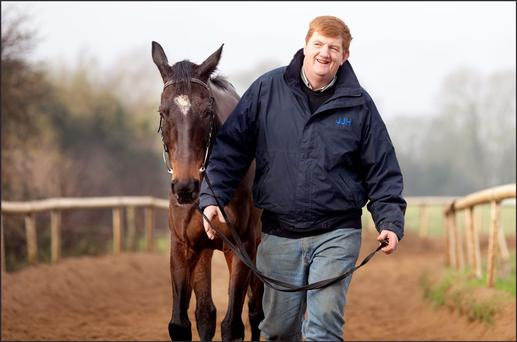 Irish horse trainer John Hanlon