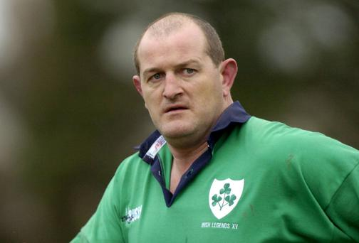 Peter Clohessy: will defend action against his bar