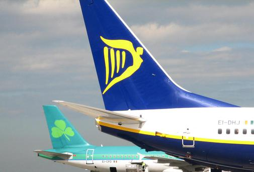 The conference includes speakers from several airlines including Ryanair