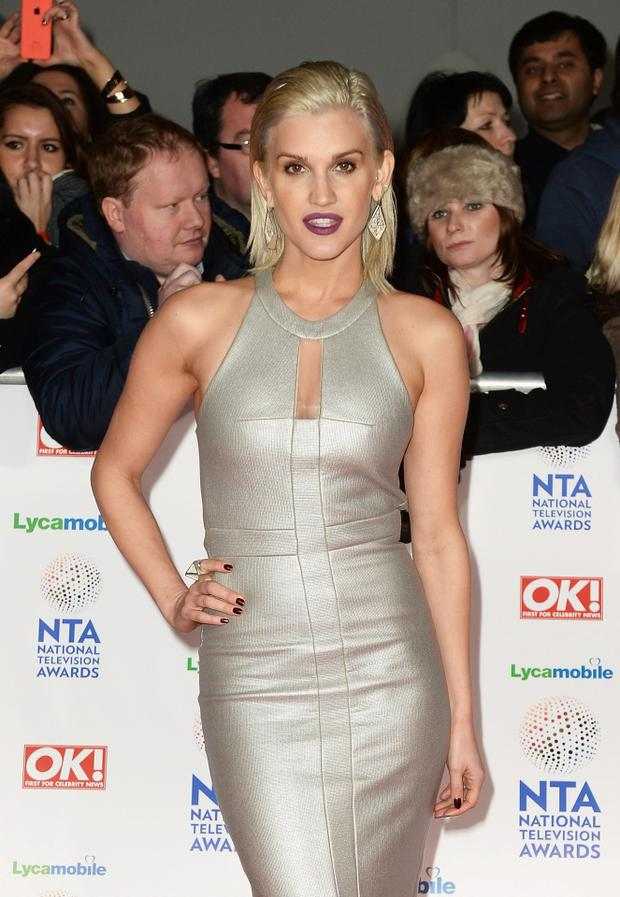 Ashley Roberts attends the National Television Awards at 02 Arena on January 22, 2014 in London, England
