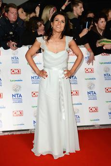Susanna Reid attends the National Television Awards at 02 Arena on January 22, 2014 in London, England