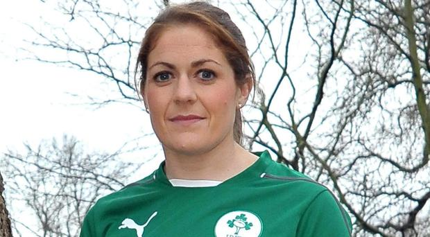 Ireland captain Fiona Coghlan is hoping to defend the Women's Six Nations title