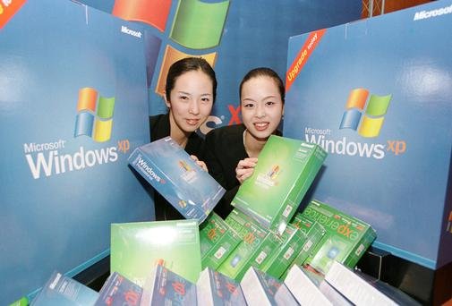 Windows XP was released in 2001 Photo: Getty Images