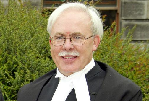 Judge Anthony Halpin: warned of a 'total breakdown of social order'