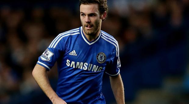 Juan Mata is on the verge of a move to Manchester