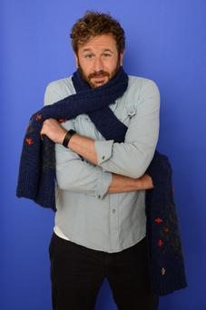 Actor Chris O'Dowd poses for a portrait during the 2014 Sundance Film Festival at the WireImage Portrait Studio at the Village At The Lift on in Park City, Utah. Photo: Larry Busacca/Getty Images