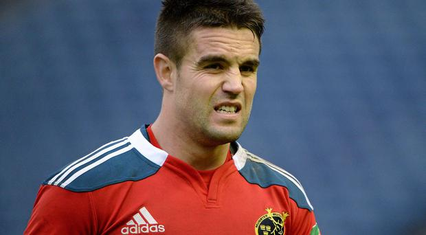 Munster scrum-half admits he 'hated' being dragged down to play rugby with the U-12s