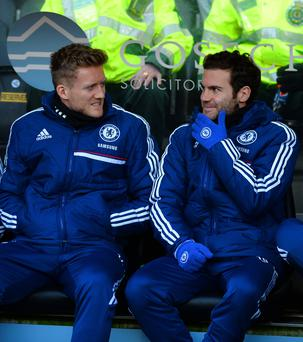 Mata: Won't face Chelsea this season