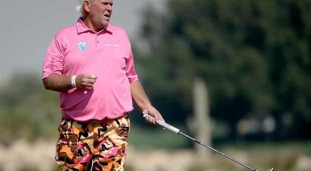 John Daly, pictured during the second round of the Qatar Masters, insists his passion for the sport grows each year