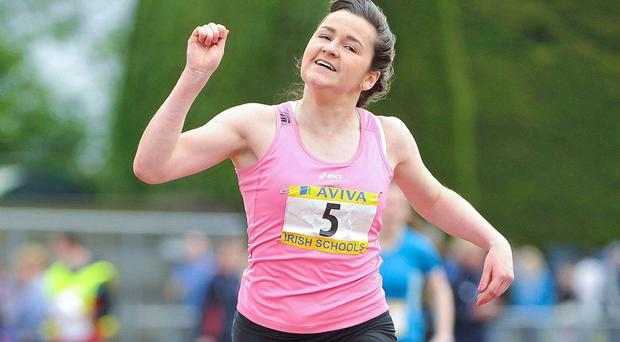 Phil Healy is one of Ireland's most promising young sprinters