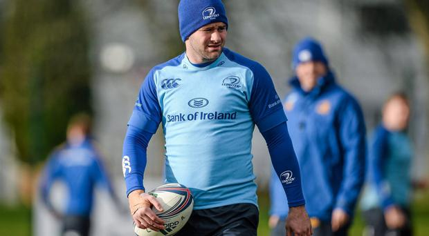 Leinster's Fergus McFadden returns from a hand injury to make the Ireland Wolfhounds squad for tomorrow's clash with England Saxons