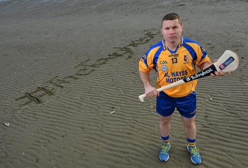 Damien Hayes will be hoping to help Portumna overcome Na Piarsaigh