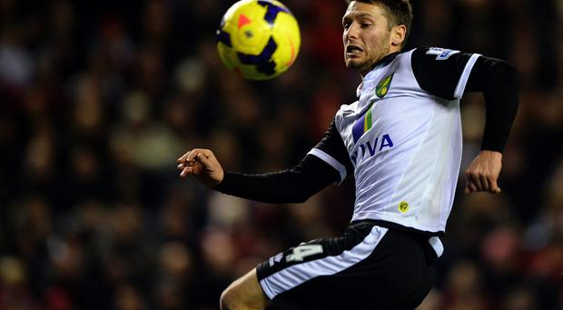 Norwich City's want-away Irish midfielder Wes Hoolahan