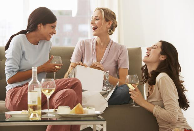 Things seem less expensive when you've had a couple of glasses of wine (Stock image)