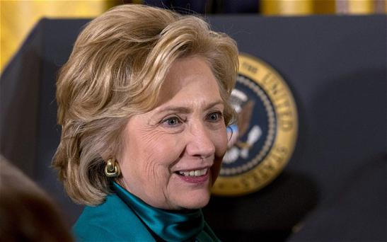 Mrs Clinton, who lost out to Mr Obama in a bitter Democrat primary campaign that she entered as the frontrunner, has said that she has not decided whether to run again in 2016