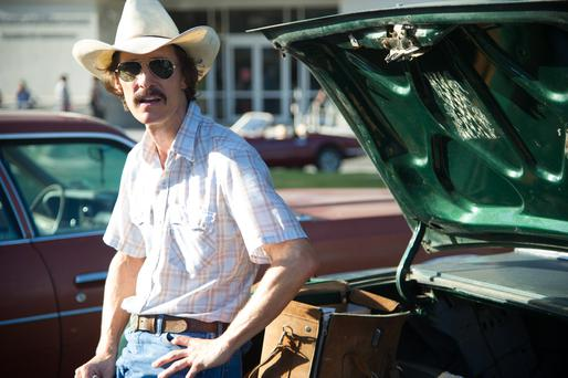 Matthew McConaughey has been nominated for a Best Actor Oscar