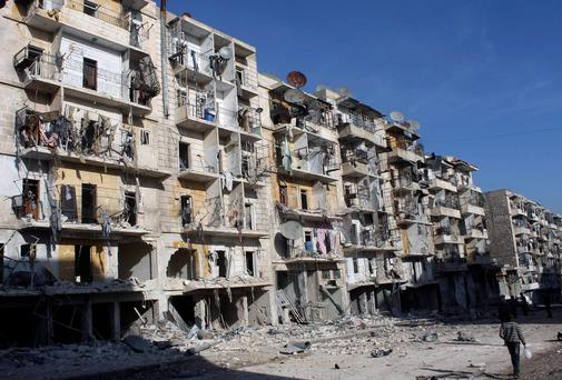 Devastation in Syria