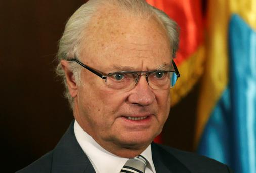 Sweden's King Carl Gustaf. Reuters