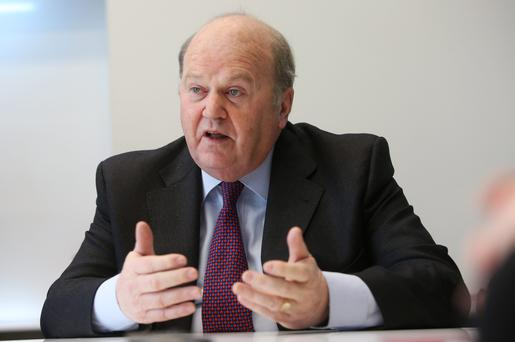Minister Michael Noonan asserts that the banks will not need any more capital