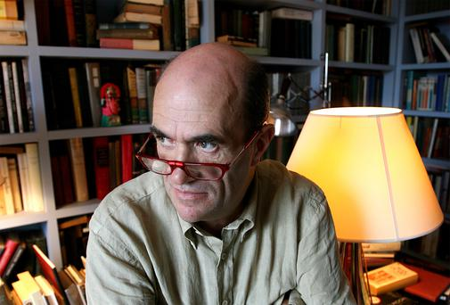 BEHIND THE PEN: The new book considers how much Colm Toibin's sexuality influenced his works. Photo: Mark Condren