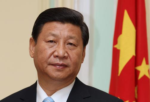 Chinese president Xi Jinping - the Chinese government is targeting export growth of 7.5 per cent.
