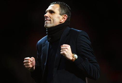 Gus Poyet was happy to put a lacklustre performance to one side