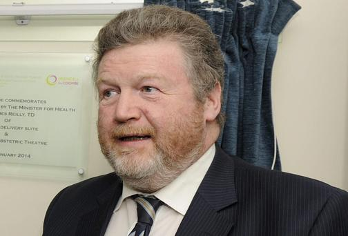Minister for Health, Dr. James Reilly