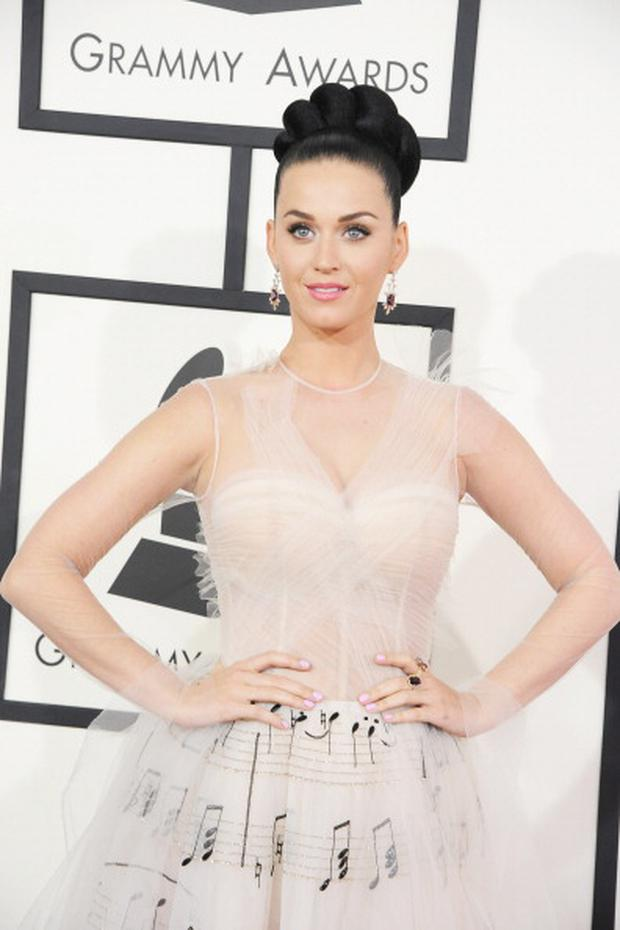 Recording artist Katy Perry attends the 56th GRAMMY Awards at Staples Center on January 26, 2014 in Los Angeles, California. (Photo by Steve Granitz/WireImage)