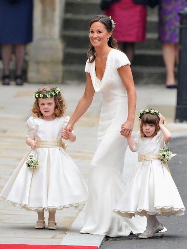 Pippa Middleton at the royal wedding in 2011