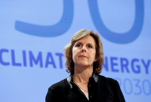 European Commissioner for Climate Action Connie Hedegaard launched the plans last week. Photo: Reuters.