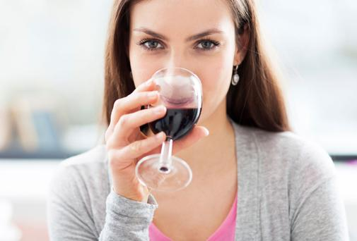 Light or moderate drinking was classed as less than 15g (around one-and-a-half units or just under two drinks) a day in women and 30g (three units or three or four drinks) and below in men. Picture posed