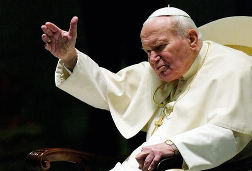 Pope John Paul II in 2003.