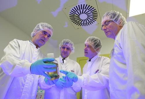 The Centre for Cell Manufacturing Ireland (CCMI) at NUI Galway is the first ever facility on the island of Ireland to receive a licence from the Irish Medicines Board to manufacture culture-expanded stem cells for human use. Picture: Aengus McMahon