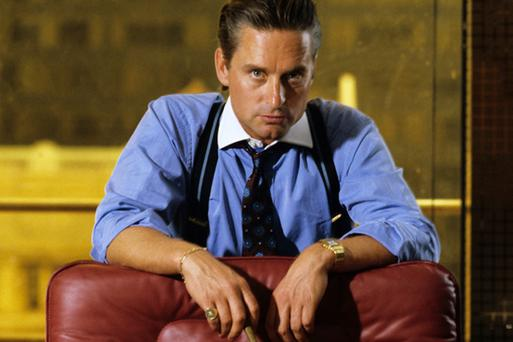 Michael Douglas depicted traders as greedy and immoral in the 1987 movie Wall Street