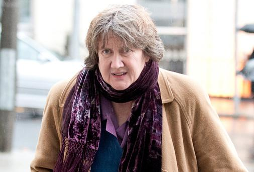 Mary Miley arriving at Dublin Circuit Criminal Court. Picture: Collins Courts.